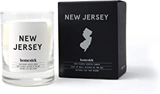 Homesick Mini Scented Candle (10 to 12 hr Burn Time), 1.5 oz, New Jersey