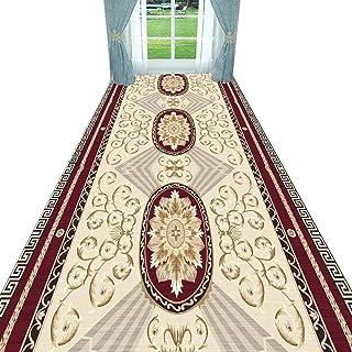 Non-Slip Carpet YANZHEN Hallway Runner Rugs Non-Slip Mat Anti-Static Easy to Clean Extra Long Entrance Blended Fibers, Cus...
