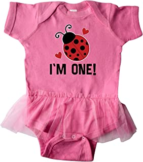 inktastic 1st Birthday Ladybug 1 Year Old Infant Tutu Bodysuit
