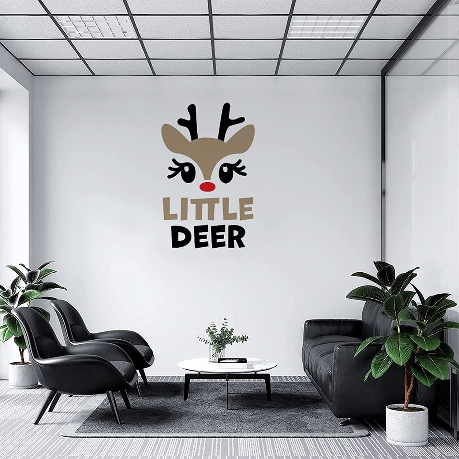 Wall Decal Charlotte Mall Little Deer Decor Classroom New mail order Bedroom Playroo for