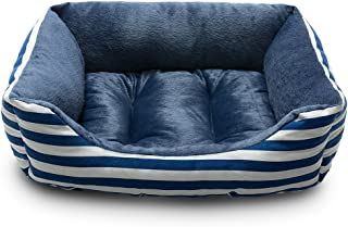 Hollypet Self-Warming Pet Bed for Small Medium Dog Cat Plush Rectangle Nest Puppy Sleeping Bag Cushion