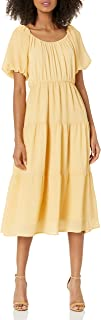 ASTR the label Women's Smocked Tiered Maxi