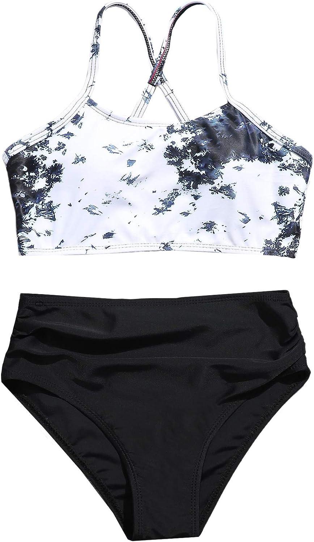 SOLY HUX Girl's Spaghetti Strap Bikini Suits S Las Vegas Mall Luxury Piece Two Bathing