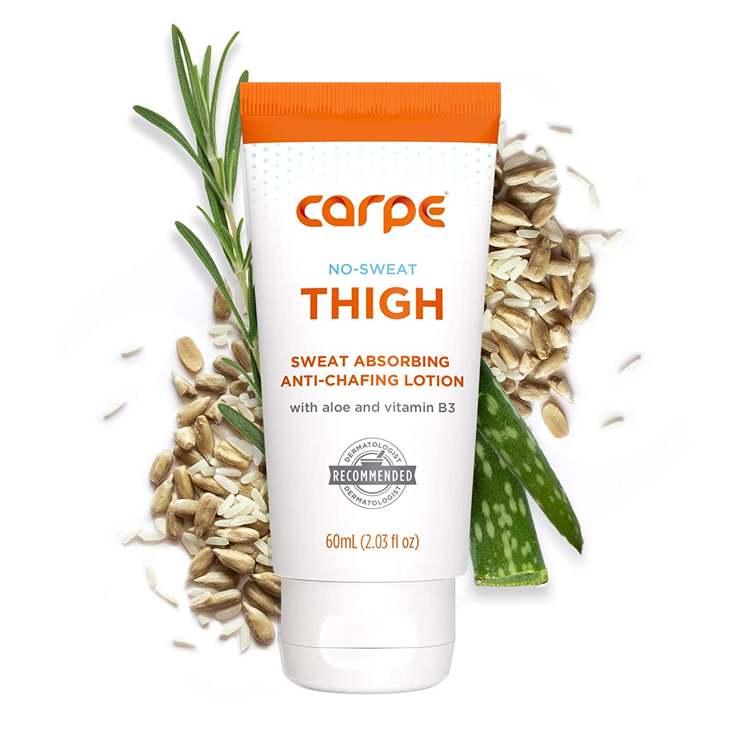 Carpe No Sweat Thigh Super beauty product restock quality top - Helps Keep Sale price Free Thighs Dry Your Chafe and