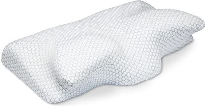 SEPOVEDA Contour Memory Foam Pillow, Cervical Pillow for Neck Pain, Orthopedic Sleeping Pillows Therapeutica Bed Pillow fo...