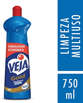 Limpador Gold Multiuso 750 ml, Veja