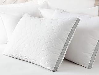 Madame Coco 1KYAST0143389 Klimalı Yastık - Beyaz / Açık Gri, Standart