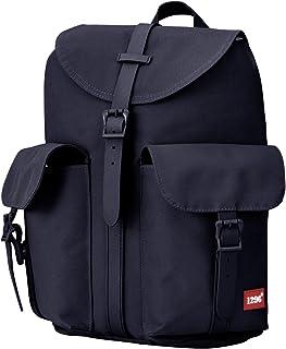 BLNBAG U5 - Rucksack für Damen Handtaschen-Rucksack mit Tabletfach, Segeltuch - Damenrucksack, Tagesrucksack für Frauen, 12 Liter - Dunkelblau, 34 cm, 1083021002