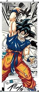 CoolChange Poster para enrollar /Kakemono de Dragon Ball Hecho de paño, 100x40cm, Tema: Dragon Ball Z
