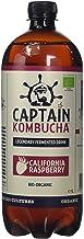 Captain Kombucha Captain Kombucha Bio-Organic California Raspberry Drink 1 Litre Pack of 6