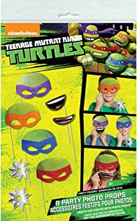 Teenage Mutant Ninja Turtles Photo Booth Props, 8pc