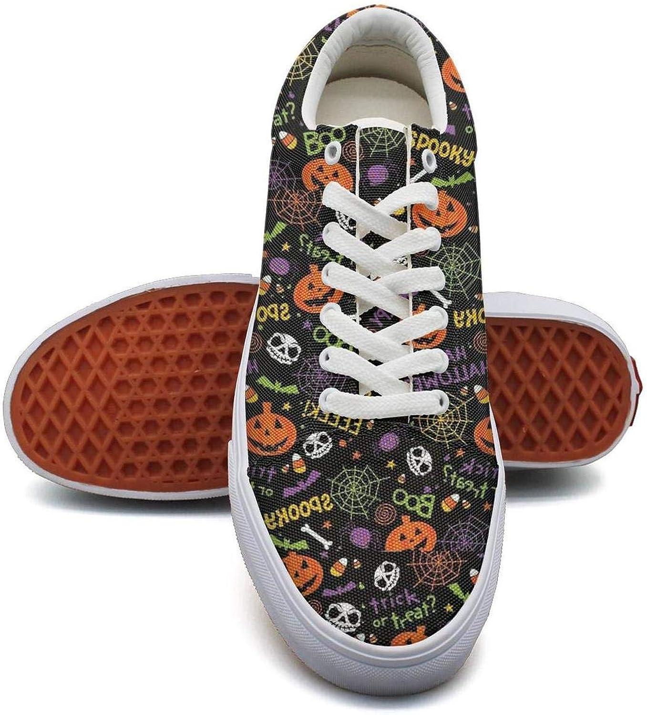 Beautiful Women Cute sugar skull white Gym shoes Slip-On shoes