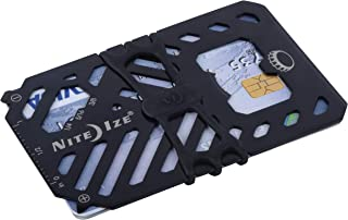 Nite Ize Financial Tool Multi Tool Wallet Financial Tool Multi Tool Wallet - Black, FMT2-01-R7