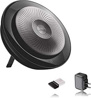 Jabra Speak 710 Speaker Phone - Unified Communications Certified Portable Conference Speaker with Bluetooth Adapter and US...