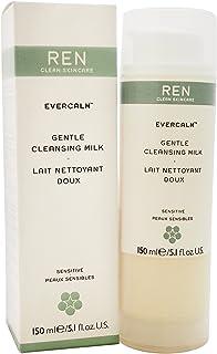REN Evercalm Gentle Cleansing Milk by REN for Unisex - 5.1 oz Cleansing Milk, 153 ml