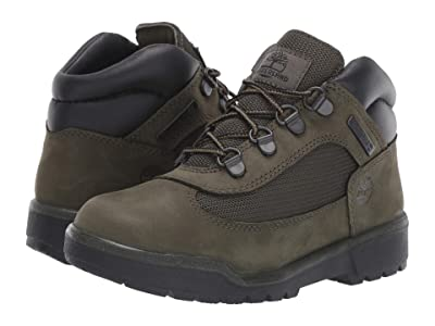 Timberland Kids Field Boot Chukka (Little Kid) (Dark Green Nubuck) Kids Shoes