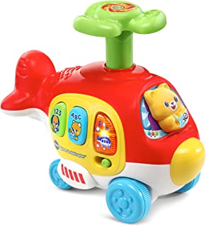 Vtech Push & Spin Helicopter, Multi-Colour, Vt80-513903