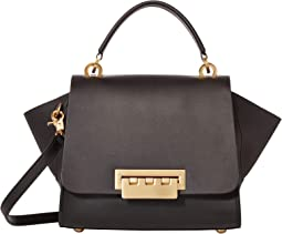 Eartha Top-Handle Crossbody Solid