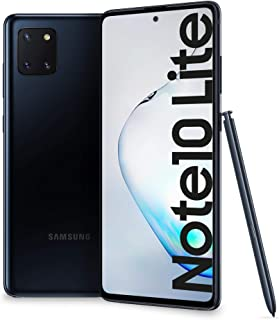"Samsung Galaxy Note10 Lite Smartphone, Display 6.7"" Super AMOLED, 3 Fotocamere Posteriori, 128 GB Espandibili, RAM 6 GB, B..."