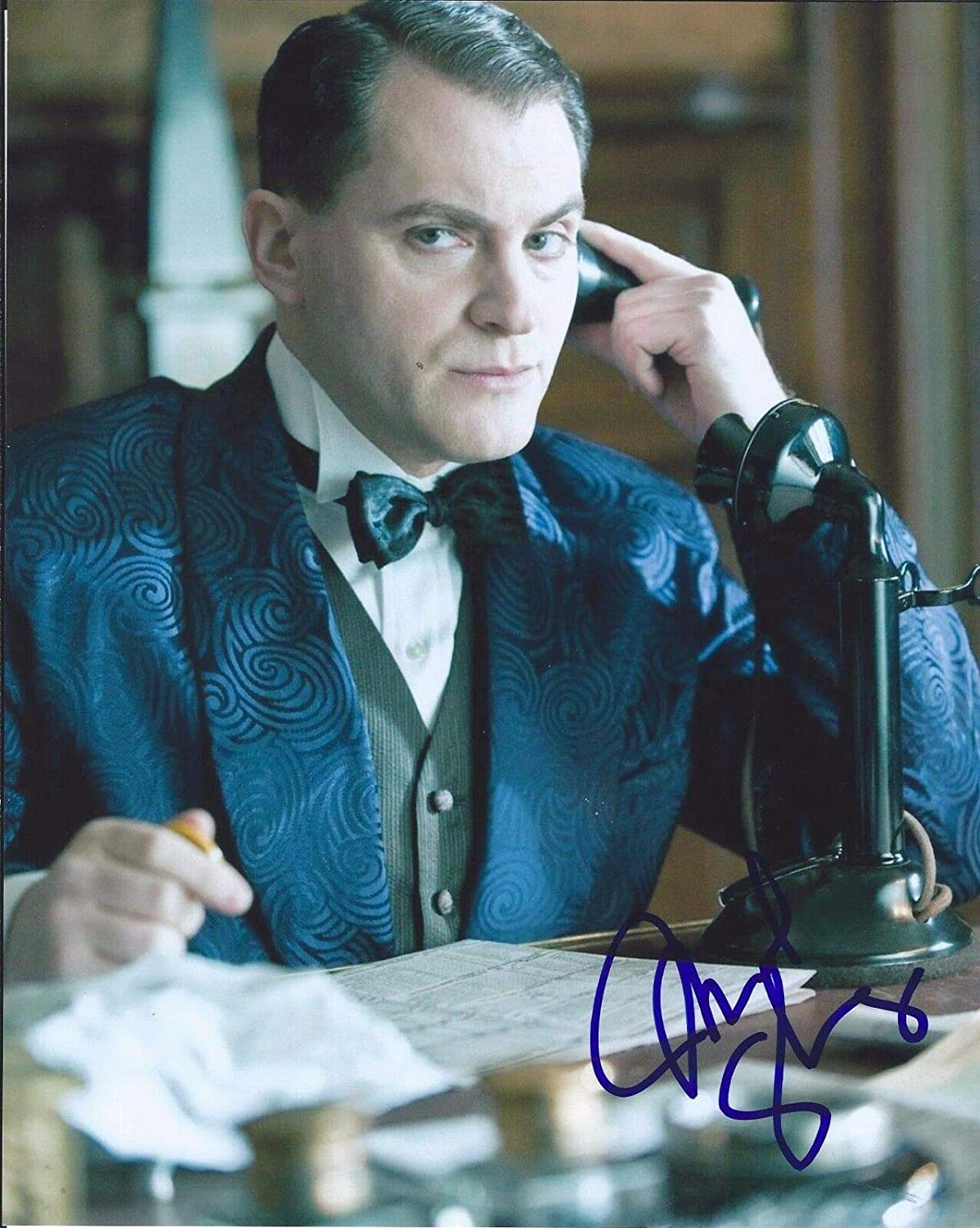 Michael Stuhlbarg Now free shipping Signed Autographed Popularity Empire 8x10 Boardwalk Photo