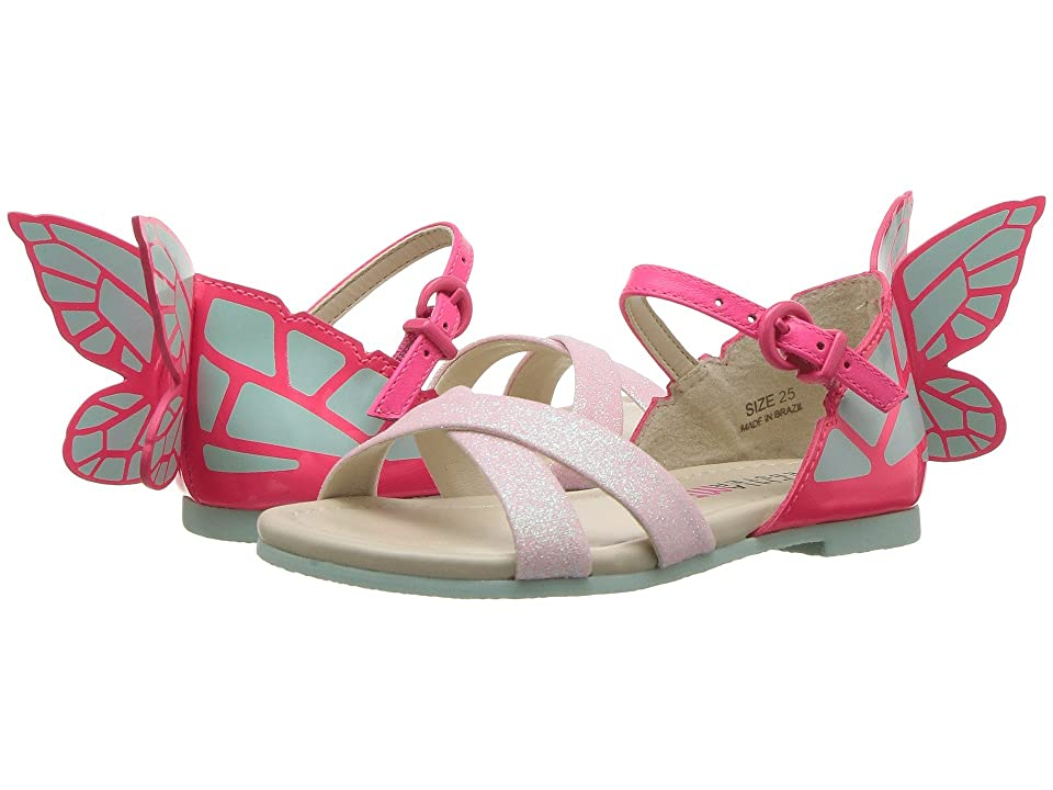 Sophia Webster Chiara Sandal (Infant/Toddler/Little Kid/Big Kid) (Pink Glitter) Girls Shoes