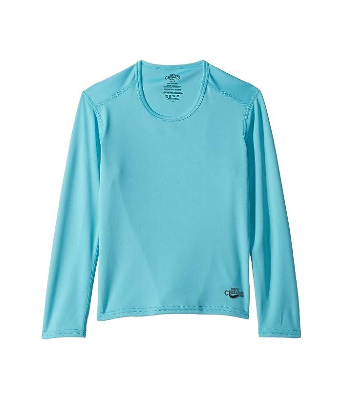 Hot Chillys Kids Peach Crewneck (Little Kids/Big Kids) (Paradise) Girl's T Shirt