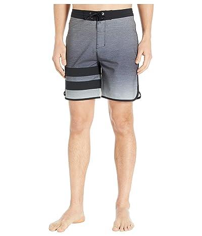 Hurley 18 Phantom Block Party Keep Cool Boardshorts (Dark Smoke Grey) Men
