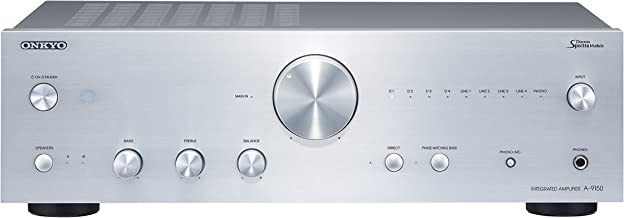 ONKYO Integrated Stereo Amplifier A-9150(S) (SILVER)【Japan Domestic genuine products】