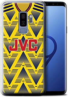 Gel TPU Phone Case/Cover for Samsung Galaxy S9 Plus/G965 / Arsenal 1991 Away Design/Retro Soccer Jersey/Shirt Division 1 Collection