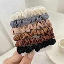 SCHWARZ-PFERD 6 Colours Set Elastic Ties Hair Bands Silk
