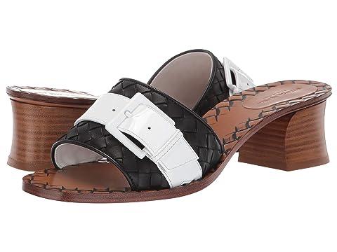 Bottega Veneta Ravello Block Heel Sandal
