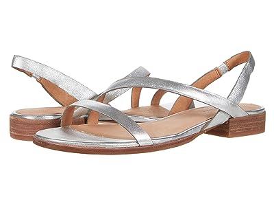 Madewell Heidi Bare Slingback Sandal in Metallic (Silver) Women