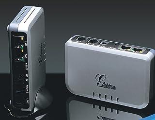 Grandstream Handy Tone-503 / 1-電話入力口、1-電話出力口、1-LAN、1-WAN