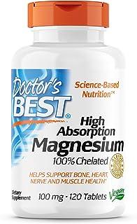 مغنسيوم عالي الامتصاص من دكتورز بيست، 120 قرصًا, DRB00025 , , 120 Tablets, ,, 1