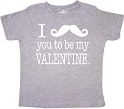 inktastic I Mustache You to Be My Valentine Toddler T-Shirt