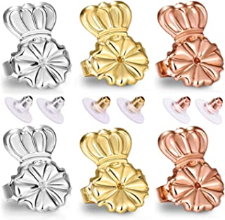 Original Magic Earring Lifters and Earring Backs 3 Pairs Earring Lifters + 6 Pcs Earring Bullets Backs