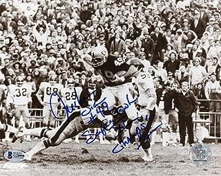 Mike Siani Super Bowl XI Champs Autographed Oakland Raiders 8x10 Photo - BAS COA