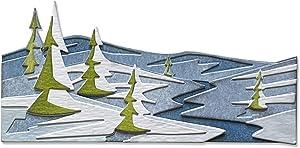 Tim Holtz - Sizzix SIZZIX THINLITS Dies, Snowscape, Colorize