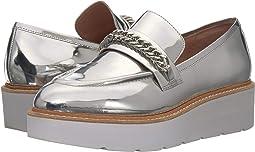 Silver Specchio Leather