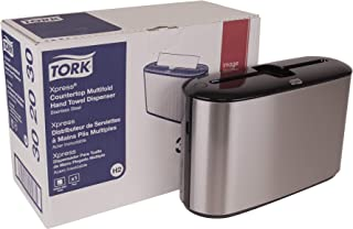 Tork 302030 Xpress Countertop Multifold Hand Towel Dispenser, Plastic, 7.92