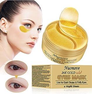 Máscara para los ojos Parches para los ojos Ojos Parches Máscara para ojos de colágeno Contorno de Ojos Antiarrugas A...
