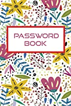 Password book: Password logbook with Alphabetical tabs ,Internet Password log book Never Forget a Password Again! Password...