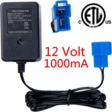 Bestlaixing 12V Battery Charger for Ride on Toys,12V Charger for Kids Ride on Car Electric Ride-Ons Accessories
