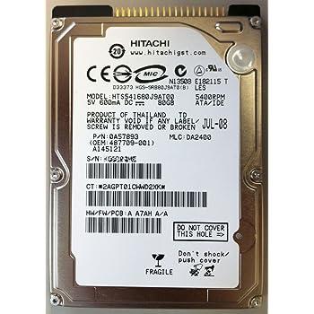 日立GST Travelstar 5K160(80GB/ATA100/5400rpm/8MB) HTS541680J9AT00