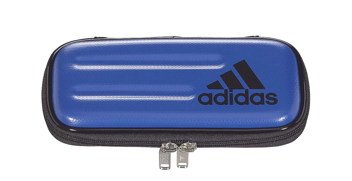 のりアクティブ与える三菱鉛筆 アディダス ペンケース セミハードタイプ 青黒 PT1502AI05B24