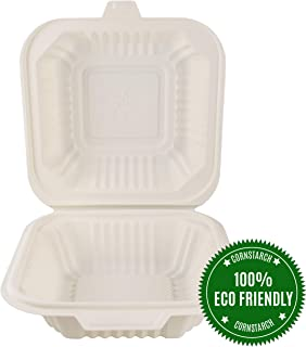 green disposable food containers