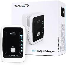 RANGEXTD WLAN Verstärker WiFi Repeater - Internet Verstärker für mehr WLAN-Reichweite   WLAN Repeater für bis zu 10 Geräte...