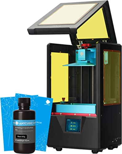ANYCUBIC Photon S 3D Printer, UV LCD Resin Printer with Dual Z-axis Linear Rail and Upgraded UV Module & Print Quietl...