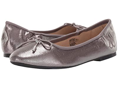 Sam Edelman Kids Felicia Ballet (Little Kid/Big Kid) (Gunmetal Shimmer) Girls Shoes