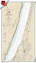 Paradise Cay Publications NOAA Chart 12345: Hudson River George Washington Bridge to Yonkers 21.00 x 36.69 (SMALL FORMAT WATERPROOF)